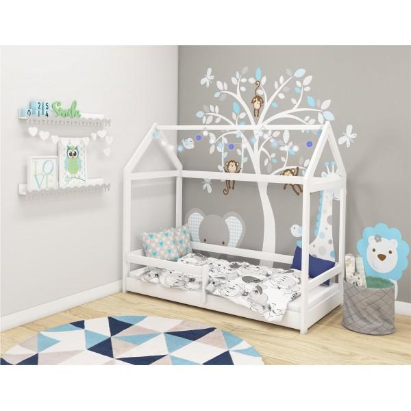Otroška postelja 4kids House White
