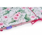 Obroba za posteljico Jukki In Garden Pink
