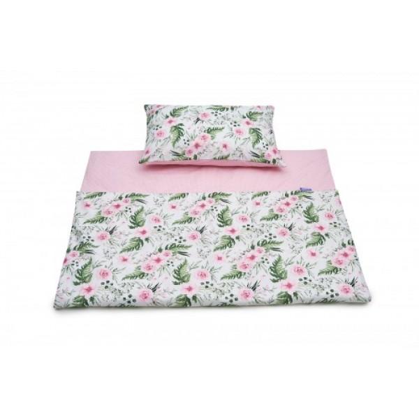 Posteljnina Jukki In Garden Pink 135/100