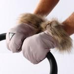 Muff rokavičke Junama IGLO Rose