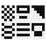 Puzzle igralna podloga MataLU Black