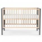 Baby postelja MIA 120×60 Gray