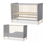 Baby postelja NICO 120×60 Gray