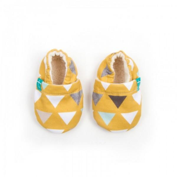 Copatki Titot Triangles on Mustard 4-5L